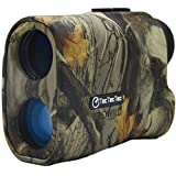 TecTecTec ProWild Hunting Rangefinder - 6x24 Laser Range Finder for Hunting with Speed, Scan and Normal Measurements (Camo) (Color: Camo)