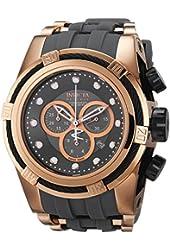 Invicta Men's 14408 Bolt Chronograph Grey Dial Grey Polyurethane Watch