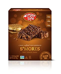 Enjoy Life Decadent Bars, S'mores, 1.2 oz. Bars, 5 Count