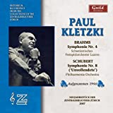 Paul Kletzki Conducts Brahms & Schubert