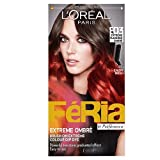 L'Oreal Paris Feria Permanent Hair Colour, Extreme Flame Red Ombre Number E03 - Pack of 3