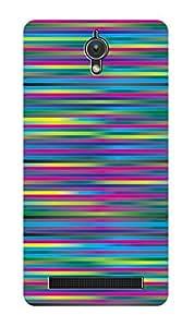 ZAPCASE PRINTED BACK COVER FOR ASUS ZENFONE C - Multicolor