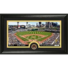 MLB Pittsburgh Pirates Infield Dirt Coin Panoramic Mint Photo by Bullion International