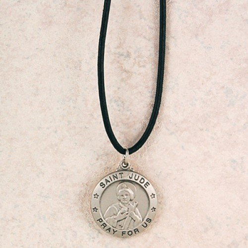 Pewter St Jude 24