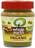Whole Earth Organic Crunchy Peanut Butter 227 g (Pack of 3)