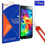 2x Samsung Galaxy S5 / S5 neo plt24 Ultra-Klar Glasfolie