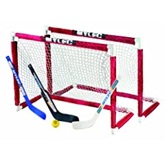 Buy Mylec Deluxe Mini Goal Set by Mylec