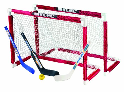 Mylec Deluxe Mini Goal Set (Mini Hockey Goalie Set compare prices)
