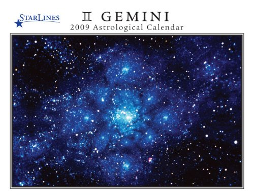 Gemini 20009 Starlines Astrological Calendar