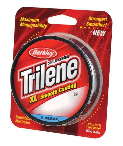 Berkley Trilene XL Filler 0.013-Inch Diameter Fishing Line, 12-Pound Test, 300-Yard Spool, Fluorescent Blue and Clear (Fluorescent Fishing Line compare prices)