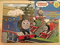Thomas the Train & Friends Wood Frame 12 Piece Puzzle