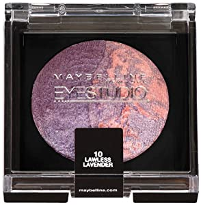 Maybelline New York Eye Studio Color Pearls Marbleized Eyeshadow, Lawless Lavender 10, 0.09 Ounce