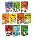 Alan Macdonald David Roberts Alan Macdonald Dirty Bertie 10 Books Collection Pack Set RRP: £49.99 (Bogeys, Fangs, Fetch, Fleas, Yuck, Worms, Pants, Burp, Mud, Germs)