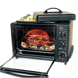 elite cuisine toaster oven with rotisserie manual