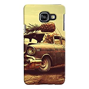 ColourCrust Samsung Galaxy A3 A310 (2016 Edition) Mobile Phone Back Cover With Vintage Car - Durable Matte Finish Hard Plastic Slim Case