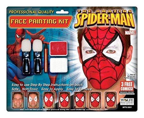 Spiderman Makeup Kit Wolfe Bro