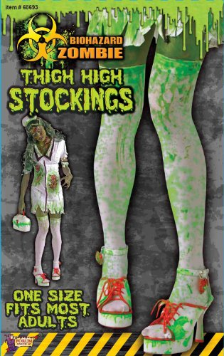 [Biohazard Zombie Stockings Adult Accessory] (Biohazard Costumes)