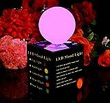 PK Green Lumière d'Ambiance à LED qui change de couleur - Lampe Veilleuse - Boule Multicolore
