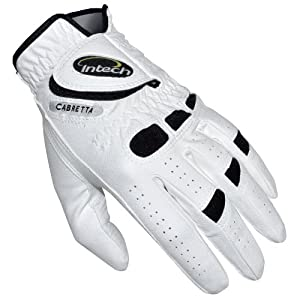 Intech Ti-Cabretta Men's Golf Gloves, Left-Hand, Large (6 Pack)