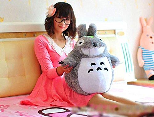 1pcs 80cm Big Cute Totoro Plush Jumbo Giant Large Stuffed Animals Soft Toy Doll Pillow Cushion Birthday Holiday Child Girl Boy Gift