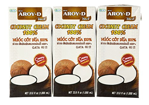 Aroy-D-100-Pure-Coconut-Cream-338-Oz-3-pack