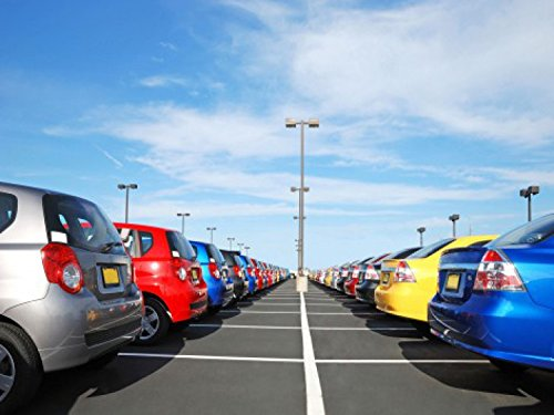 coches-big-parking-lot-4-parts-poster-fotomural-360-x-255cm