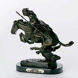 "Amazon.com: Cheyenne by Frederic Remington Bronze Medium Size - 11.5""H"