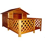 Merry Pet The Mansion Wood Pet House, Large