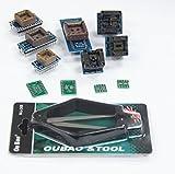 [Signstek] TL866CS、TL866A、EZP2010などの11PCSプログラマーアダプタソケットキットとIC引き抜き工具