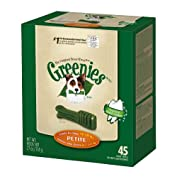 by Greenies 66% Sales Rank in Pet Supplies: 95 (was 158 yesterday) (2607)Buy new:  $34.49  $17.99 37 used & new from $17.99