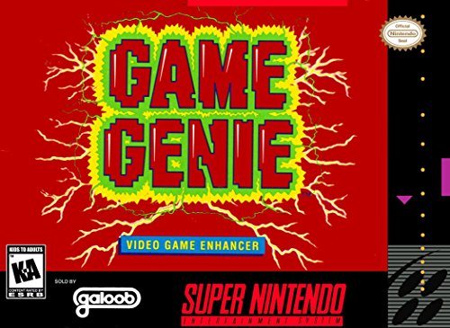 Game Genie Video Game Enhancer front-310605