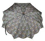Galleria-Peacock-Auto-Open-Stick-Umbrella---Peacock