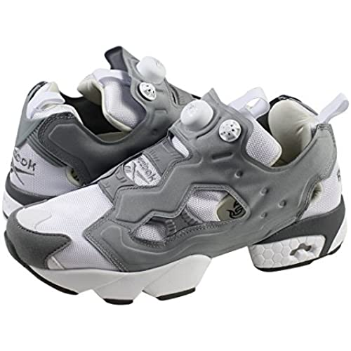 (리복)Reebok INSTA PUMP FURY OG 스니커즈 인스타 펌프 퓨리 오리지날 메쉬 맨즈 레이디스 M48560 화이트 그레이 유니  (병행수입품)-