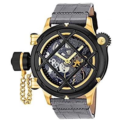 Invicta Men's 14626 Russian Diver Analog Display Mechanical Hand Wind Grey Watch