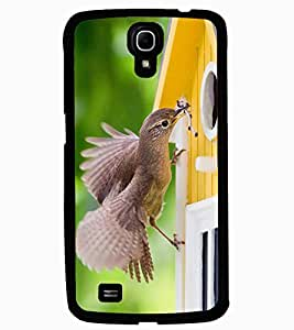 ColourCraft Lovely Bird Design Back Case Cover for SAMSUNG GALAXY MEGA 6.3 I9200