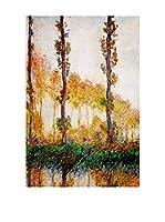 Especial Arte Lienzo Poplars Multicolor