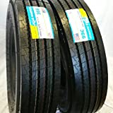 (8-Tires) 11R22.5 ROAD WARRIOR 16 PLY STEER ALL POSITIONS RADIAL TRUCK TIRES CLOSED SHOULDER