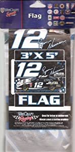WinCraft Sports NASCAR Flag, #12 Ryan Newman by NASCAR