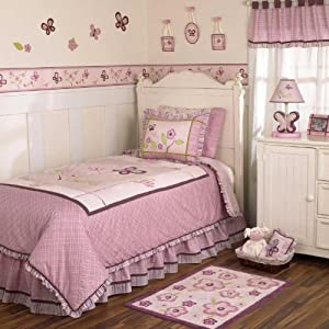 Cocalo Sugar Plum Twin Bedding Set (Quilt&sham)