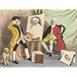 David Garrick and William Hogarth (V&A Custom Print)