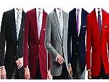 Mens Elegant Classic 2 Button Blazer Sport Jacket
