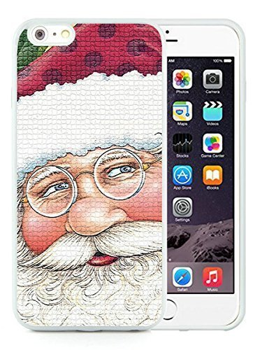Special Custom Made iPhone 6 Plus Case,Santa Claus White iPhone 6 Plus 5.5 TPU Case 16