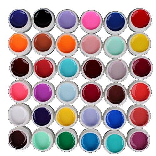 Jelly Nail Color Set ジェル ・ ネイル UV カラー セット