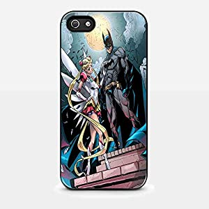 sailor moon and batman in the gotham city for iPhone and Samsung Galaxy Case at Gotham City Store