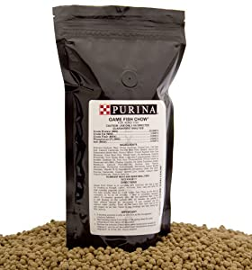 Purina mills game fish chow a 32 high for Purina fish food