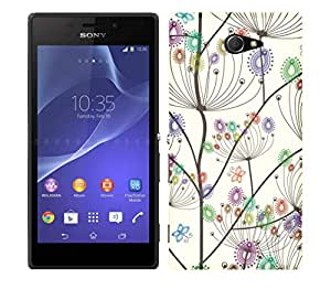 Wow Premium Design Back Cover Case For Sony Xperia M2