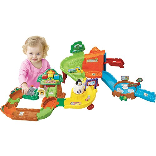 Go! Go! Smart Animals Zoo Explorers Playset, Multi