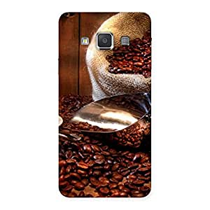 Special Coffee Beans Brown Back Case Cover for Galaxy A3