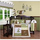 GEENNY Leap Froggy Froggie 13PCS CRIB BEDDING SET