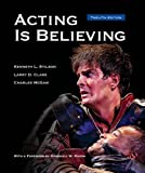 img - for Acting is Believing book / textbook / text book